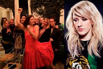 Cheiro de confusão: Ellie Goulding publica foto com Katy Perry
