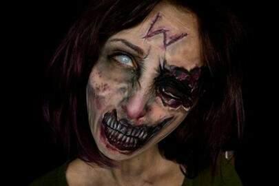 Vlogger assusta seguidores com maquiagens realistas e perturbadoras