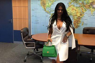 Primeira-dama do ministério de turismo divulga fotos provocantes no Planalto e gera polêmica