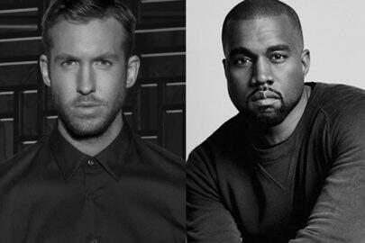 OMG! Calvin Harris e Kanye West pretendem fazer música juntos