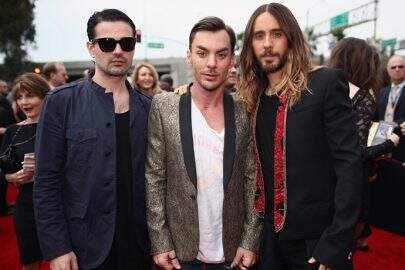 30-seconds-to-mars-on-the-grammys-red-carpet-in-2014