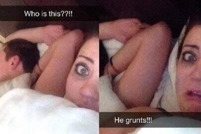 Usuários do Snapchat mostram de forma hilária arrependimento depois do sexo casual