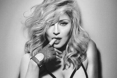 Madonna cortada