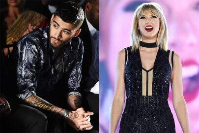 "Veja os bastidores do clipe de Taylor Swift e Zayn Malik, ""I Don't Wanna Live Forever"""