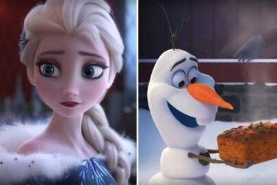 """AI, NOSSOS CORAÇÕES! Com Olaf, nova aventura de """"Frozen"""" ganha primeiro trailer"""