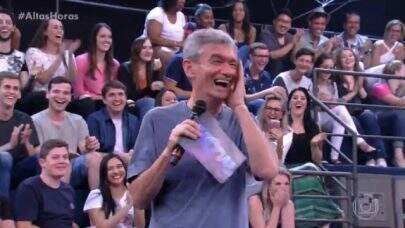 Fã diz ter sonho erótico com Serginho Groisman e reação do apresentador é hilária