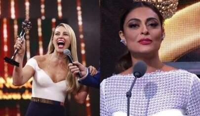 Após 'reclamação' por não receber prêmio, Paolla Oliveira manda outro recado para Juliana Paes