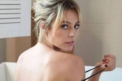 Paolla Oliveira surpreende fãs e publica foto fazendo topless