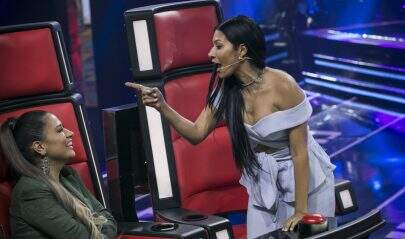 """""""The Voice Kids"""": Simaria da bronca em Simone e vira novo meme na web"""