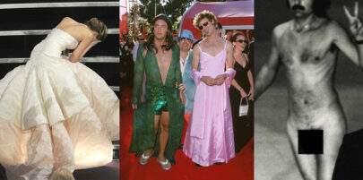 De nudez no palco a prisão de vencedor: os 10 momentos mais bizarros do Oscar