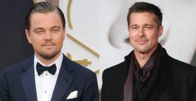 Brad Pitt e Leonardo DiCaprio vão estrelar próximo filme do Tarantino