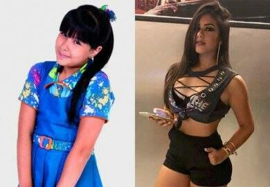 """Ex-Chiquititas impressiona com """"antes e depois"""""""