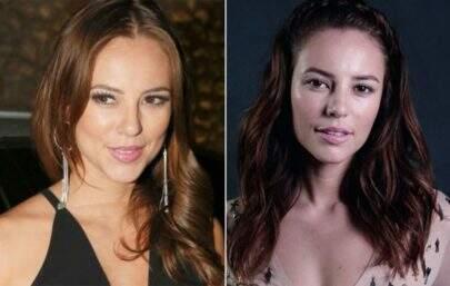 Sem glamour! Compare o antes e depois de famosas sem maquiagem