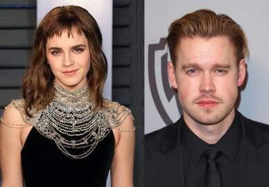 Emma Watson aparece de mãos dadas com ator e confirma namoro