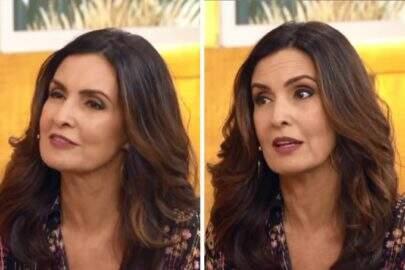 """Fátima Bernardes manda indireta sobre """"pé na bunda"""" ao vivo"""