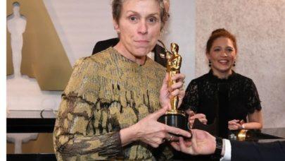Atriz eleita a melhor do ano teve seu Oscar roubado depois da cerimônia
