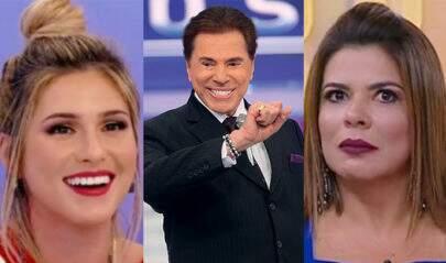 Após agressão verbal entre Mara e Lívia Andrade, Sílvio Santos questiona as apresentadoras