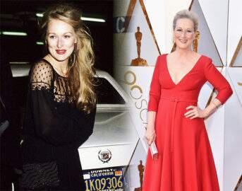 Veja o antes e depois das atrizes no tapete vermelho do Oscar