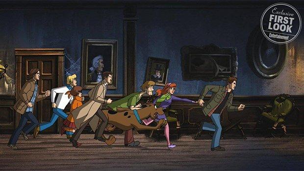 Divulgados trailer e imagens de crossover entre Supernatural e Scooby-Doo