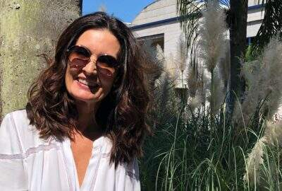 Fátima Bernardes muda visual e dá o que falar na web