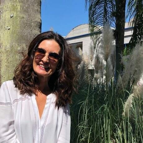 Namorado fala sobre nova fase de Fátima Bernardes e diferença de idade