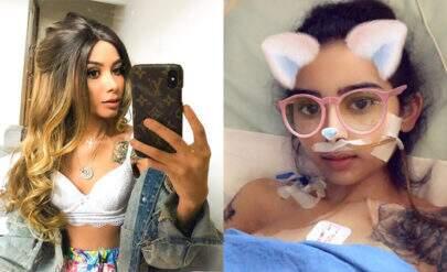 """Após chocar fãs em fotos na UTI, Nara Almeida tranquiliza seguidores: """"Chance de viver"""""""