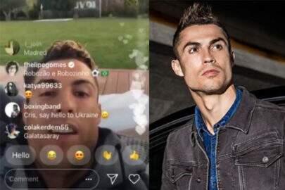 Ator da Globo brinca com Cristiano Ronaldo e recebe resposta