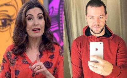 """Humorista demitido do """"Encontro"""" debocha de Fátima Bernades e gera climão"""