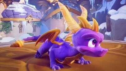 """Primeiras imagens do remake do clássico jogo """"Spyro"""" são divulgadas"""