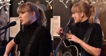 Taylor Swift surpreendeu fãs e fez apresentação em bar de Nashville