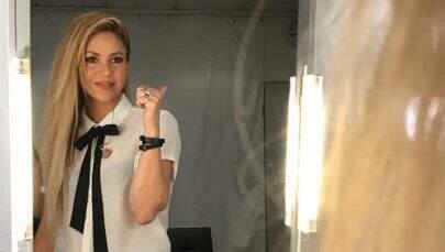 """""""El dorado"""": Shakira anuncia dois shows no Brasil em outubro"""