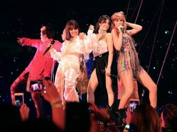 "Taylor Swift inicia ""Reputation Tour"" com Camila Cabello; vem ver"
