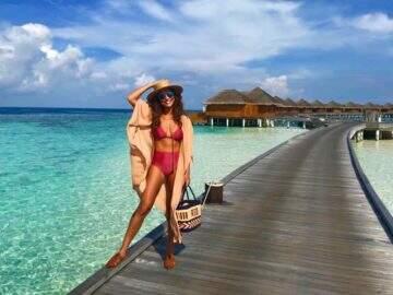 Luxo, glamour e diversão: Juliana Paes abre o álbum de viagem para as Maldivas