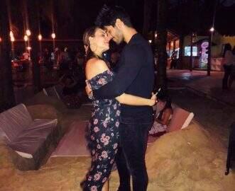 Lucas Fernandes e Ana Lúcia Vilela retomam noivado