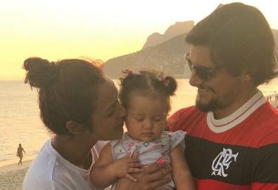 Yanna Lavigne e Bruno Gissoni comemoram primeiro ano da filha, Madalena