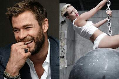 Sensacional! Chris Hemsworth se solta ao som de hit da cunhada, Miley Cyrus
