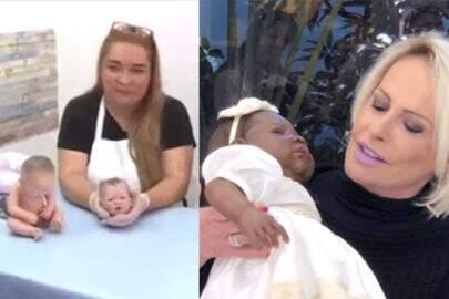 Ana Maria aterroriza telespectadores com bonecas ultrarrealistas