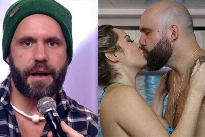 Durante entrevista, ex-BBB Caruso beija boca de youtuber