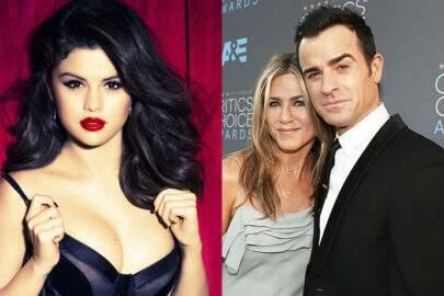 Jennifer Aniston tira satisfações com Selena Gomez por flertar com seu ex-marido
