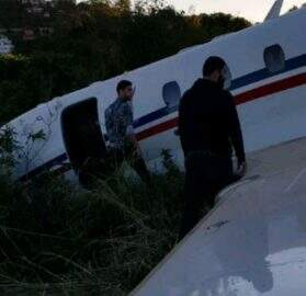 acidente aereo alok