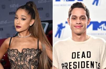 Ariana Grande e Pete Davidson assumem namoro com foto fofíssima