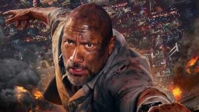 """Trailer de novo filme de The Rock, """"Arranha-céu: Coragem sem Limite"""", está cheio de emoção"""