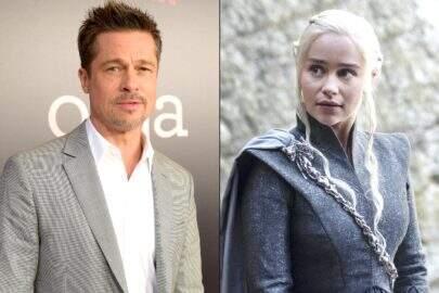 Brad Pitt já tentou comprar Emilia Clarke por mais de R$400 mil em leilão