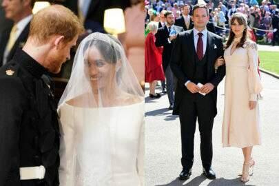 Sim! Teve chinelo para os convidados do casamento de Harry e Meghan