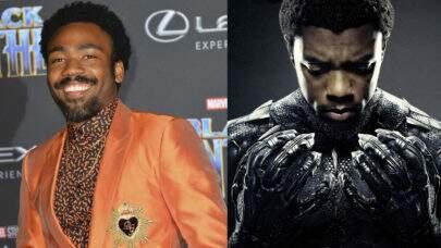 """Donald Glover pode viver o vilão de """"Pantera Negra 2"""", segundo jornal"""