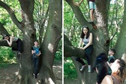 Mulher encontra suposto espírito em foto de família e perturba internautas
