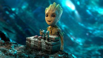 Esculturas gigantes do Groot bombam na web e encantam fãs no Peru