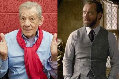 """Ian McKellen se revolta por """"Animais Fantásticos 2"""" esconder sexualidade de Dumbledore"""