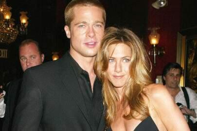Voltaram? Jennifer Aniston e Brad Pitt são flagrados aos beijos