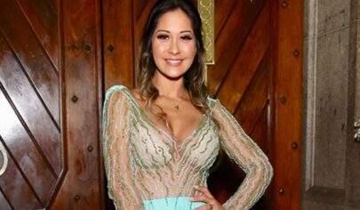 Mayra Cardi come decoração de casamento para manter dieta